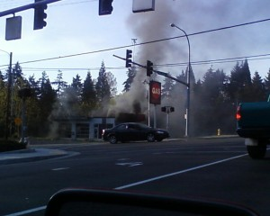 Gas station blaze