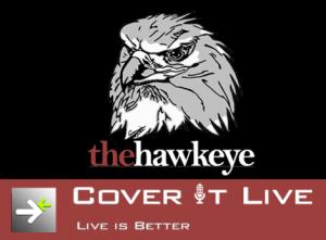 Hawks v. T-Birds: CoverItLive