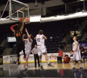 Hawks' defense prevails over Fairfax