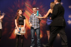 Bodnar, Pope crowned as Terrace Idol 2013 winners