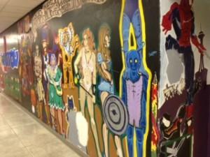 Art Club's mural plans