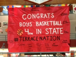 Hawks men's basketball place 4th