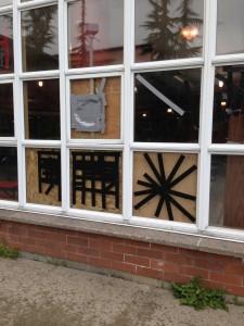 Vandals damage several windows at MTHS
