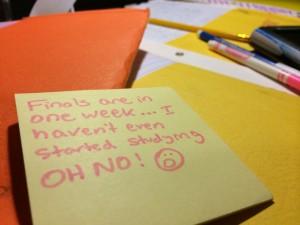 Five ways to help survive finals week