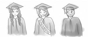 Graduation stoles 'stolen' from seniors