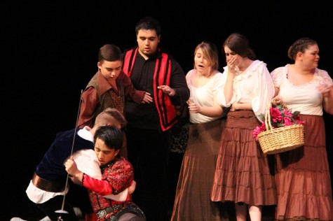 """Drama department produces movement-based rendition of """"Romeo and Juliet"""""""
