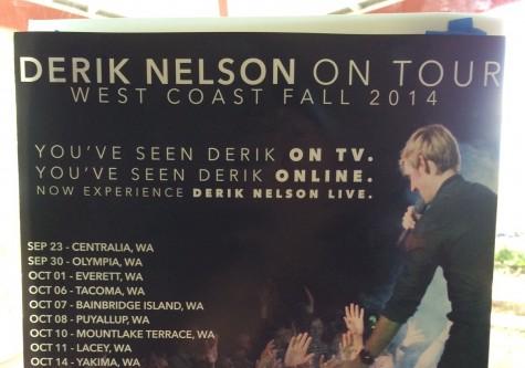 """Glee"" guitarist Derik Nelson to perform Friday at MTHS"