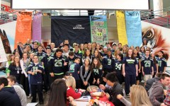 Students and staff show their Seahawk spirit