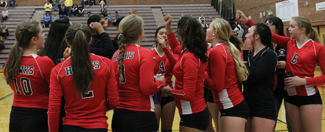 Photo Gallery: Girl's Volleyball team loses to Everett Gulls