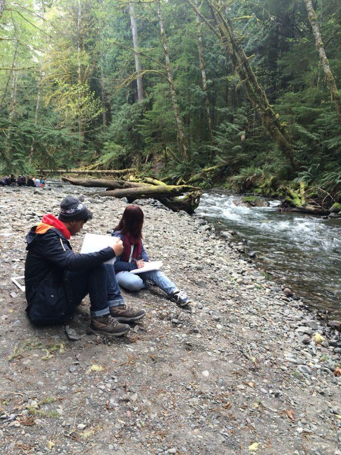Students conduct research in Olympic Peninsula