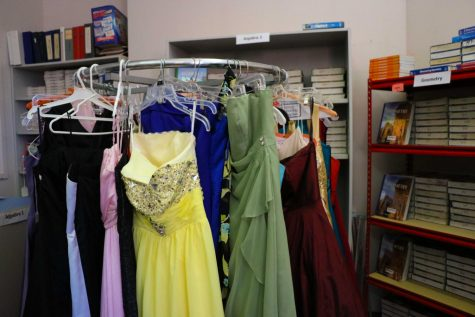Free prom dresses available in Fines Office