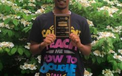 Senior Natu Abraham earns Rotary Club Inspiration award