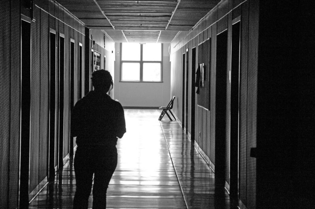 A student roams the eerie halls of Mountlake Terrace High School with every little subtle movement of her footsteps filling the penetrable silence.