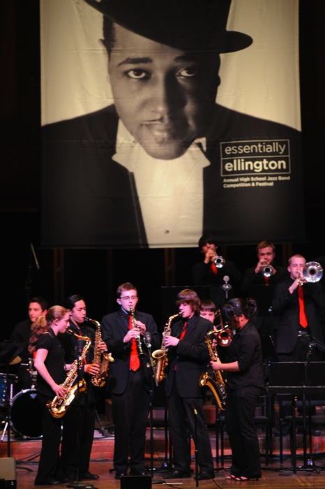 Members+of+Jazz+1+perform+at+the+2011+Essentially+Ellington+Festival+in+New+York+City.
