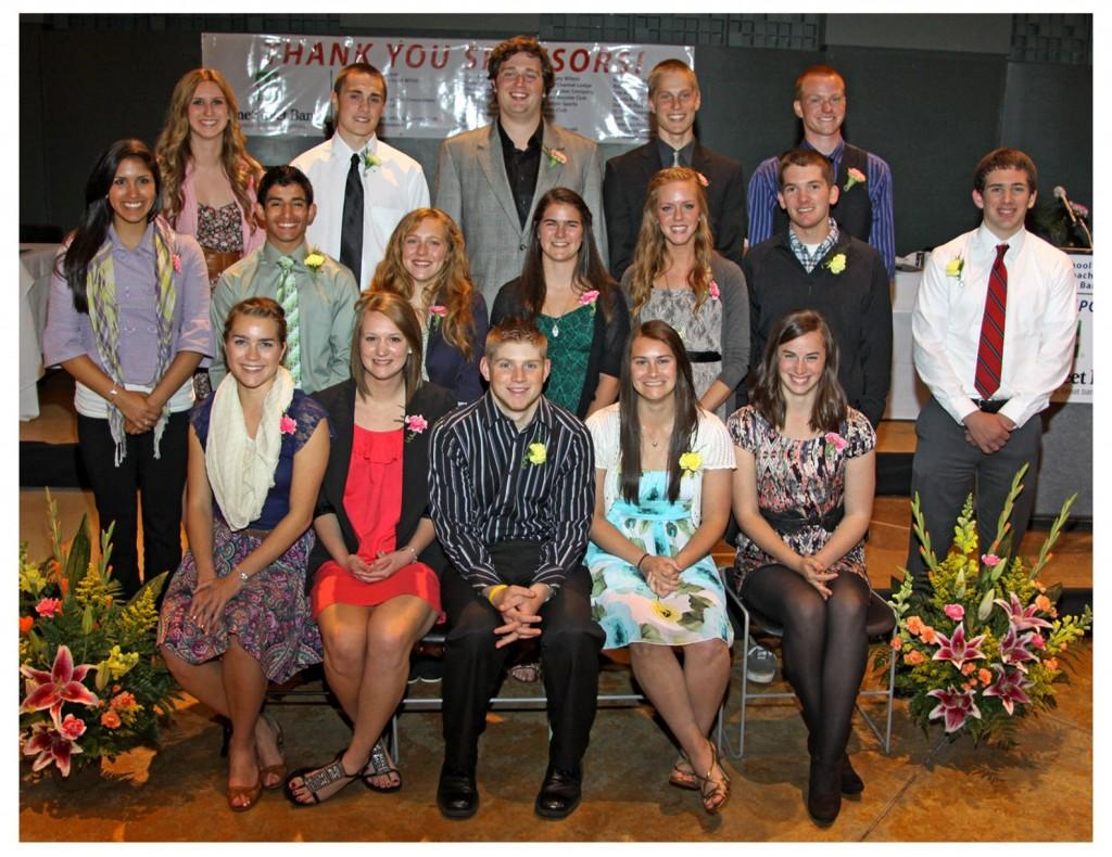 The Edmonds School District scholar-athletes 2012.
