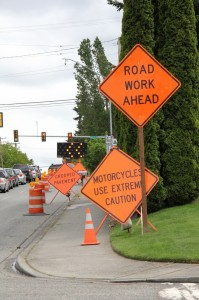The construction at the intersection of 212th and 44th has caused problems for drivers since April 23.