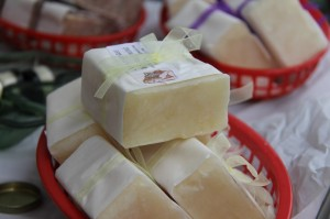 More homemade soap from Heavenly Soaps.