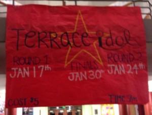 Terrace Idol 2013 stars