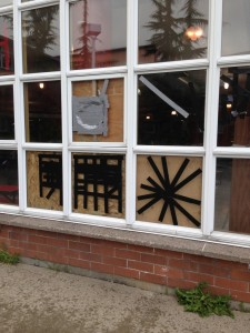 Vandals damage several windows at MTHS