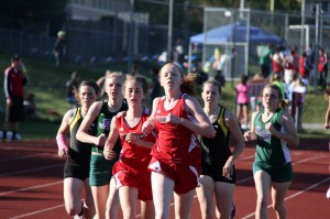 Track leaps over competition