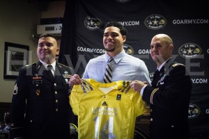 VIDEO: Downs presented with All-American Bowl jersey