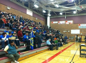 MTHS hosts regional kickoff of international robotics competition