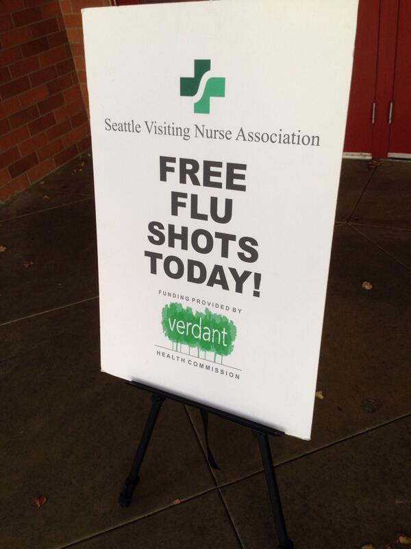 Free Flu Clinics coming to Terrace