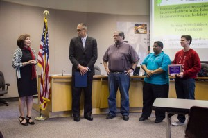 School board honors MTHS for national student press rights award