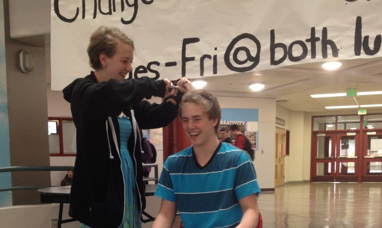 Students to let their hair go to raise funds for Oso