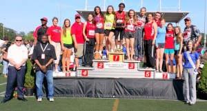 Track state meet: Women place third overall, three Men's players place in top 20