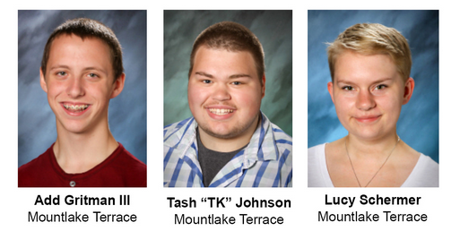 May 2014 students of the month