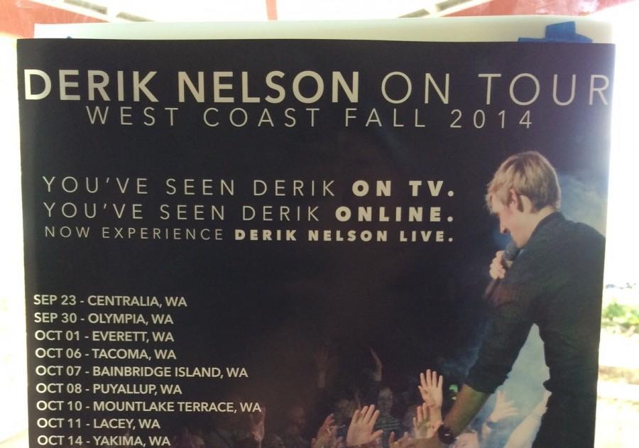 Glee guitarist Derik Nelson to perform Friday at MTHS