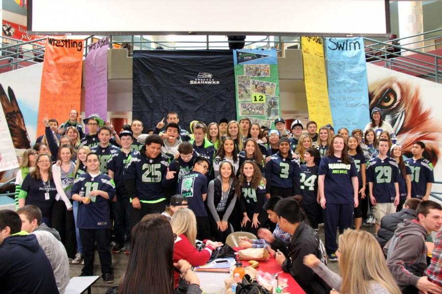 Students+and+staff+show+their+Seahawk+spirit