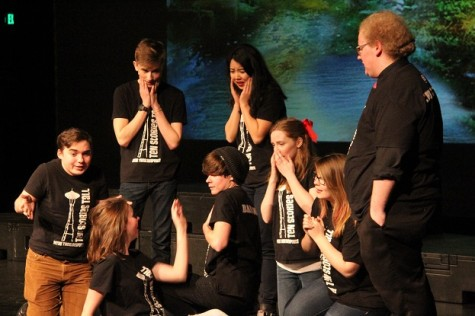 Theatre sports team presents Comedy Improv Night