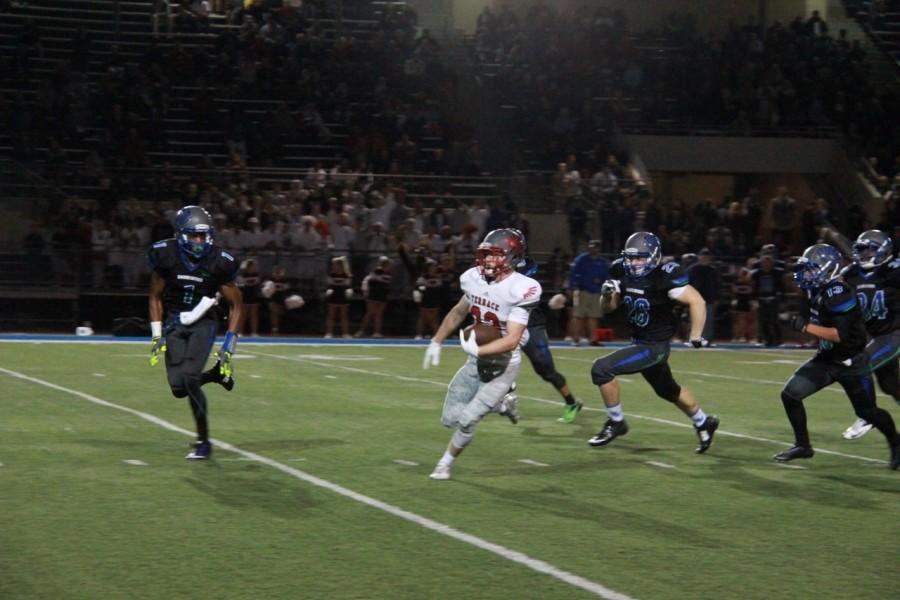 Morrin runs the ball.