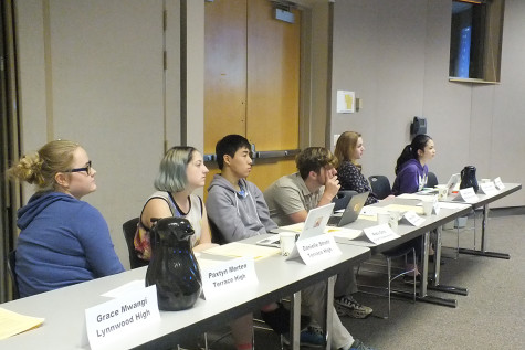 Student representatives sworn in at school board meeting
