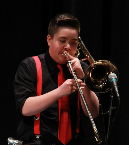 Freshmen steal the show at Jazz Night