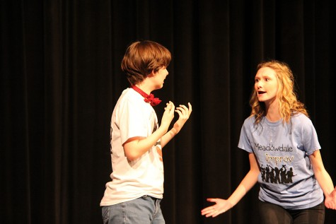 MTHS and Meadowdale theatre sports teams combine for comedic scrimmage