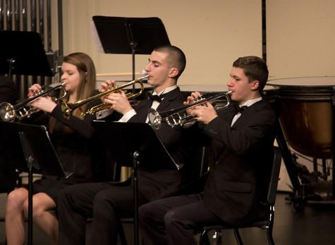 Last band concert before Canada trip showcases cohesion of bands