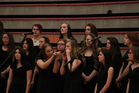 Multicultural theme prevails in choir SE Quad Concert