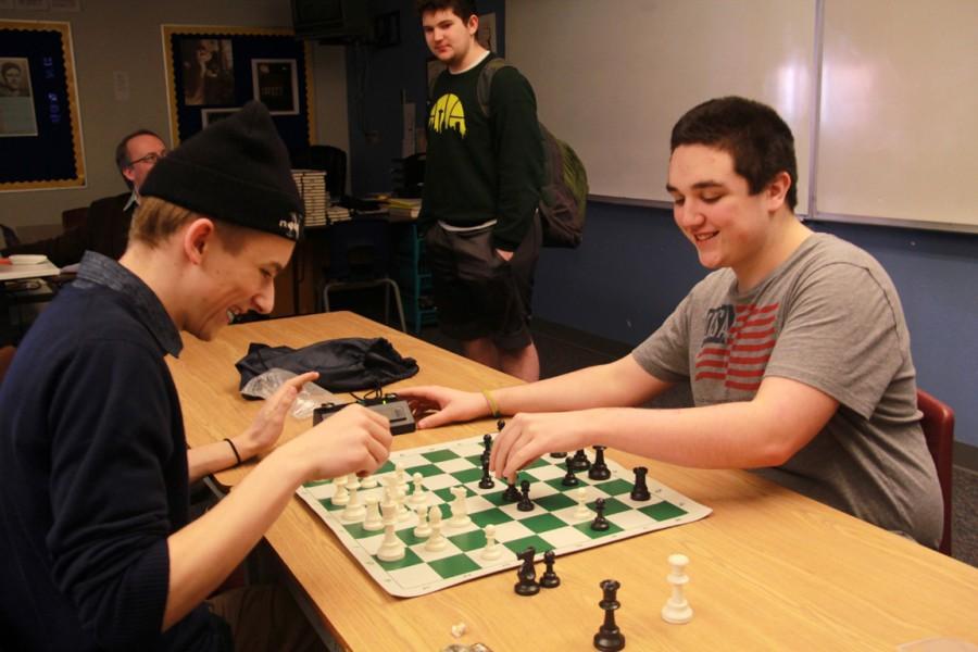 Chess Club starts up at MTHS