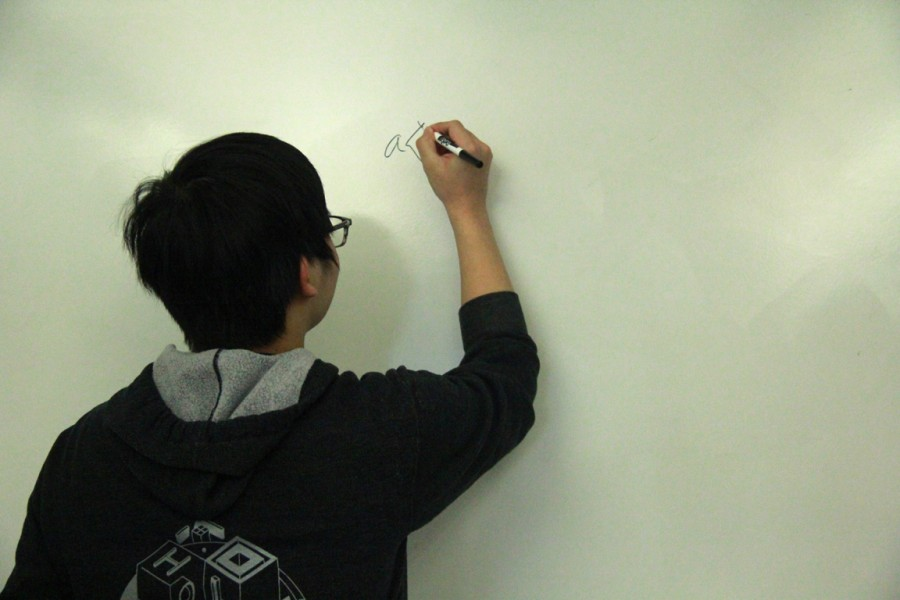 Junior Jordan Hsu develops new Math Club at MTHS