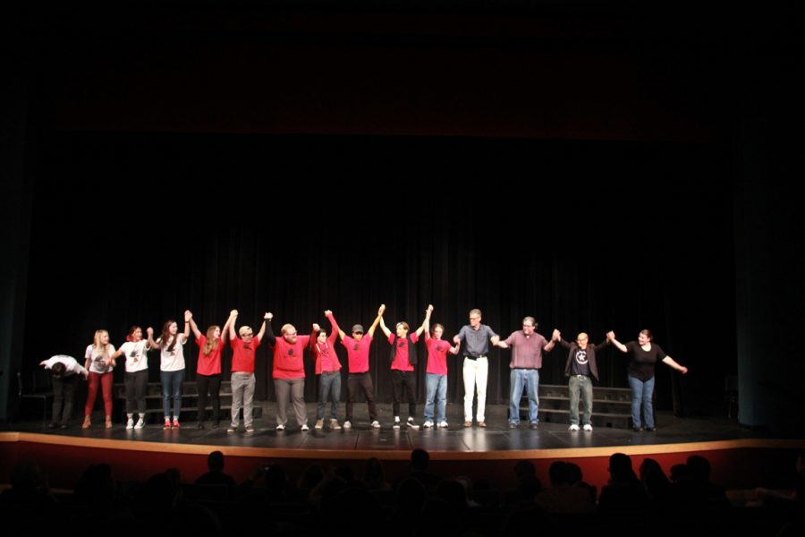 Final Bow for the team to wrap up Comedy Night