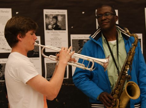 Pro musician Todd Williams guides Jazz 1 before Essentially Ellington next month
