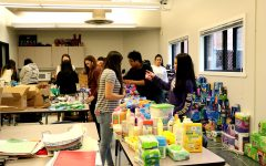 Gallery: Key Club organizes toiletry drive products for homeless shelters