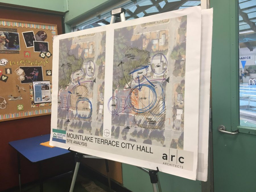 The two discussed layout plans for the new location of the MLT City Hall. The total budget for the construction would be about $25 million, including $1.8 billion that would go toward a remodel of the police station.