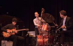 Renowned trumpeter collaborates in concert with jazz bands