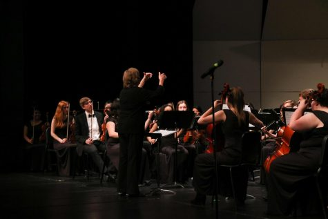 Bands emphasize individuality in classical playing, free jazz at spring concert