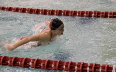 Women's Swim compete in 2A District meet and advance to State