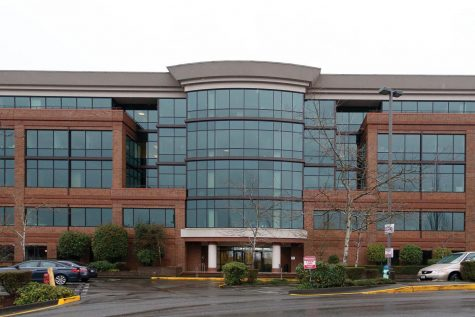 The rented Mountlake Terrace city hall building.